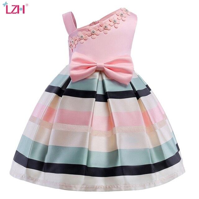Flower Girls Dress For Wedding and Party Dress Elegant Girls Princess Dress Kids Dresses For Girls Costume Children 8 9 10 Year