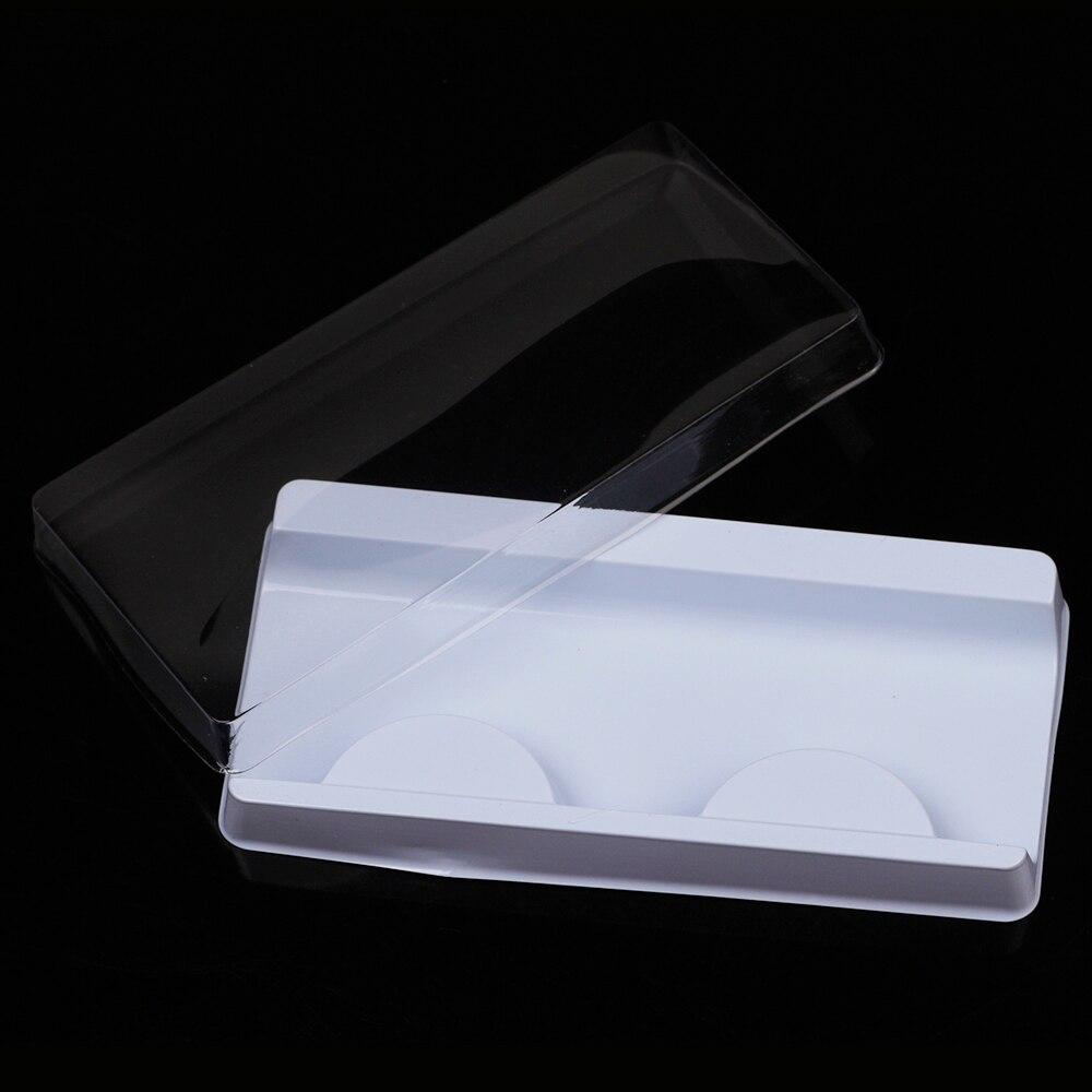 Eyelashes Tray Transparent Eyelash Packing High Quality Large Size Eye Lashes Package Clear Box Suit For 25mm Lashes