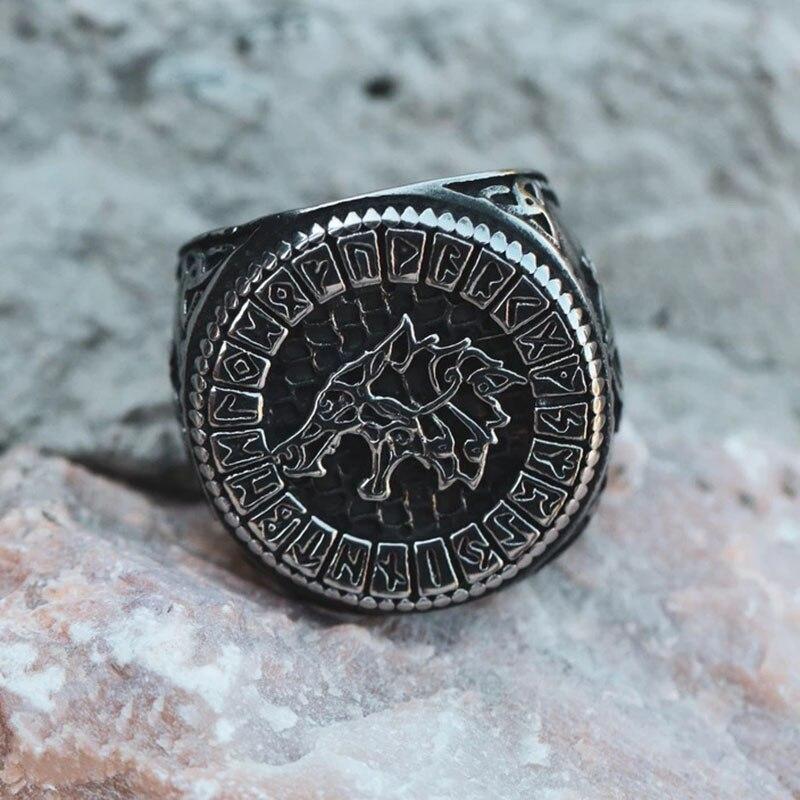 Chevalière loup FENRIR 1