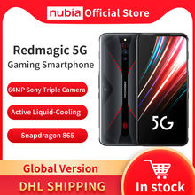 Global Versie Nubia Red Magic 5G Mobilephone 6.65 Inch Snapdragon 865 Android 10 Nfc Gaming Telefoon Wifi 6