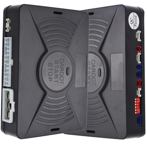 Image 2 - Cardot Pke Passive Keyless Entry System Remote Start Push Start Stop Button Auto Remote Car Alarm