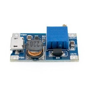 Image 5 - 50 個 1 個 MT3608 2A 最大 DC DC ステップアップ電源モジュールブースター電源モジュール 3 5 に 5 V/9 V/12 V/24 V
