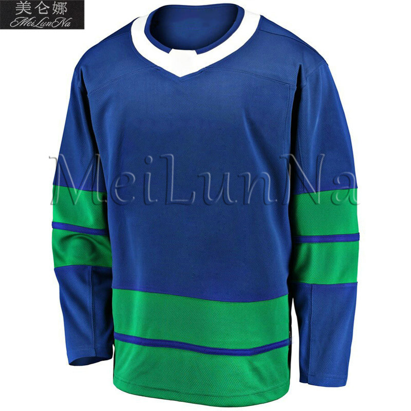 Brock Boeser Elias Pettersson Daniel Henrik Bo Horvat Men Blank Home White Third Vancouver Flying Skate New Hockey Jerseys