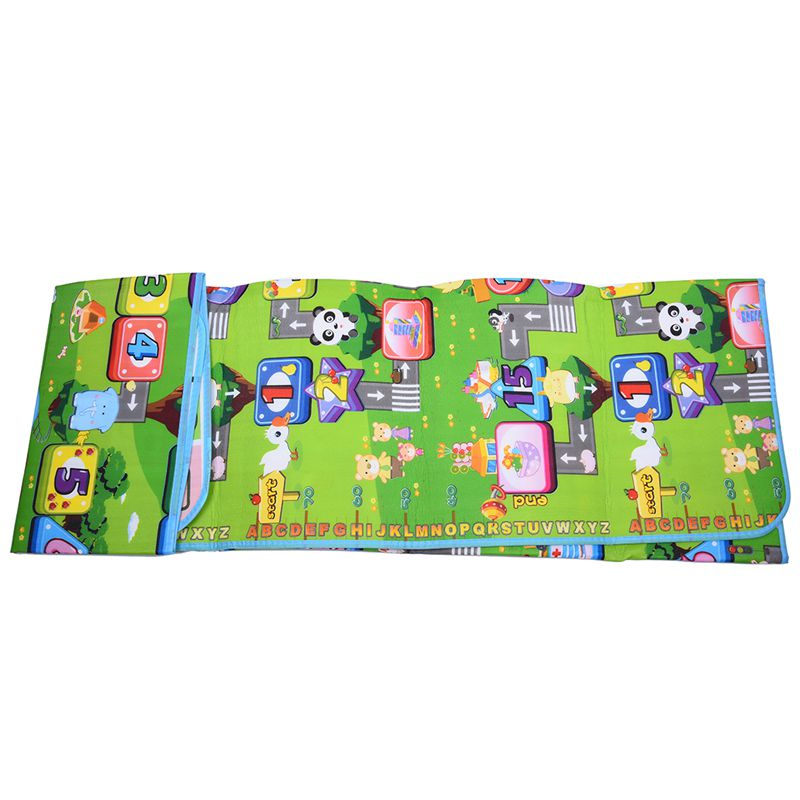 1.8x2M Cushion Thick Puzzle Play Mat Crawling Baby Waterproof Mat Child