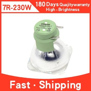 VIP230W New Lamp For OSRAM SIRIUS HRI 230W Moving head beam light bulb Compatible with MSD 7R Platinum Sharpy 7R lamp roccer 15r 300w 90% brightness of sirius hri 300w e21 8 cup for beam 300 moving head