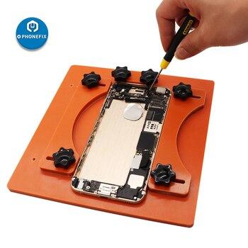 Adjustable Fixed Fixture for iPhone 8 8plus X XS XR XS Max Repair Rear Back Cover Separating Clamp Phone Disassemble Repair Kit