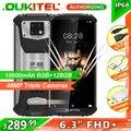 OUKITEL WP6 6 ГБ + 128 ГБ 10000 мАч IP68 Водонепроницаемый прочный мобильный телефон 48MP задние тройные Камера смартфон