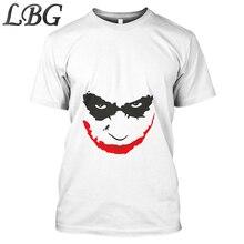 Harajuku 3D Joker T-shirt Fashion Summer T shirt Men Women Casual Anime Suicide Squad Poker Superhero Full Printed Tops Tees