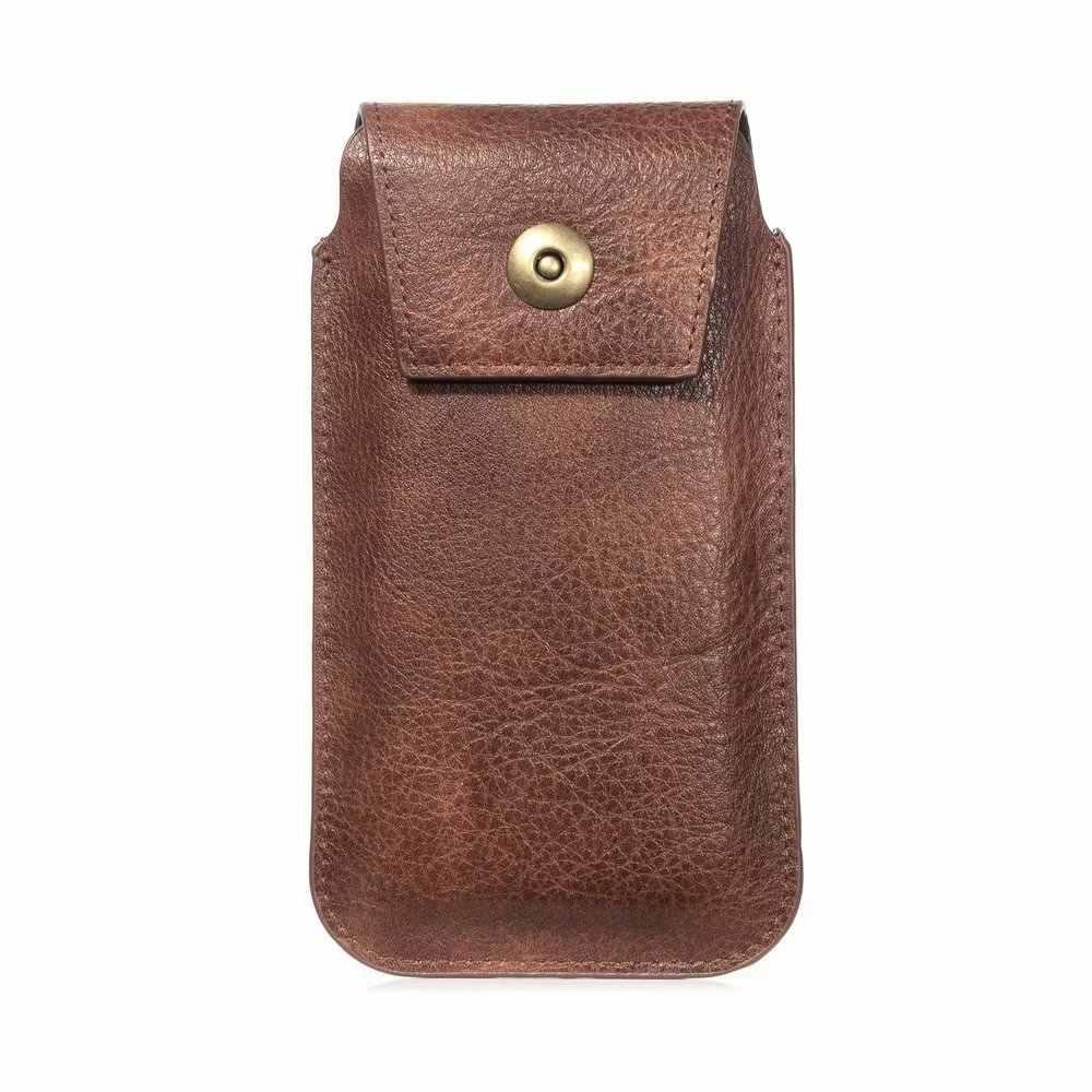 4.7-6.9 بوصة موضة الخصر حزم جراب هاتف بولي Leather جلدية حزمة مراوح حزام عادية كليب حقيبة Blackview BV9600 BV9100 BV9500 Plus A60