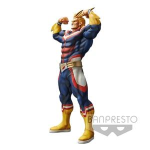 Image 3 - Tronzo 28cm Original Banpresto Grandista All Might Resolution of Soldiers My Hero Academia PVC Action Figure Model Doll Toys