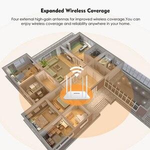 Image 5 - Беспроводной маршрутизатор Wavlink AC1200, мощный двухдиапазонный Wi Fi расширитель с антеннами с высоким коэффициентом усиления 4*5 дБи, более широкое покрытие, WPS простая настройка