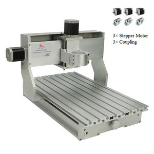 Image 3 - Cadre de Machine à graver à 4 axes, Kit de moteurs pas à pas Nema23 CNC 3040, tour CNC, 300x400mm, bricolage même