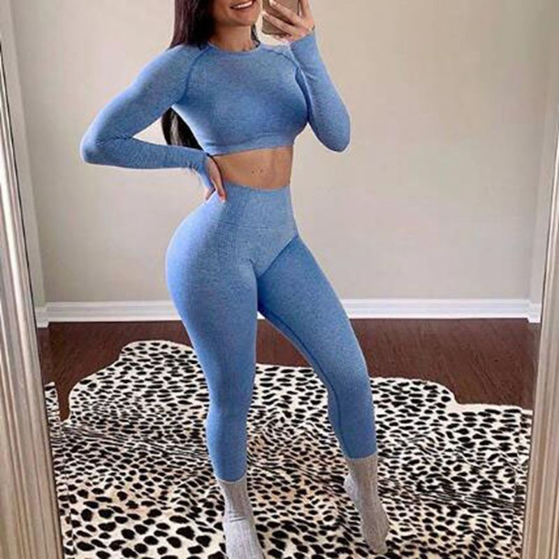 Women High Waist Running Workout Leggings