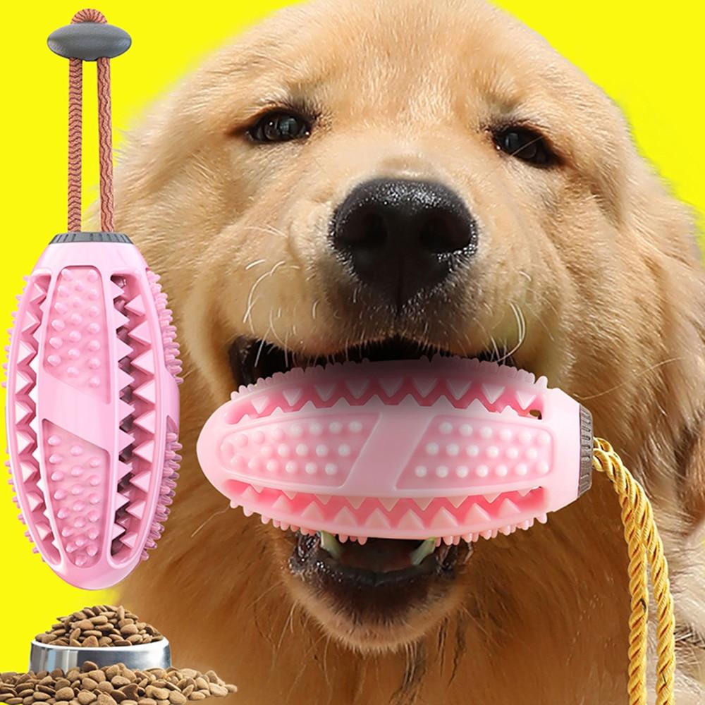 Популярная резиновая игрушка Kong Dog для французского бульдога собака зубная щетка собака жевательный шар интерактивные игрушки для домашни...