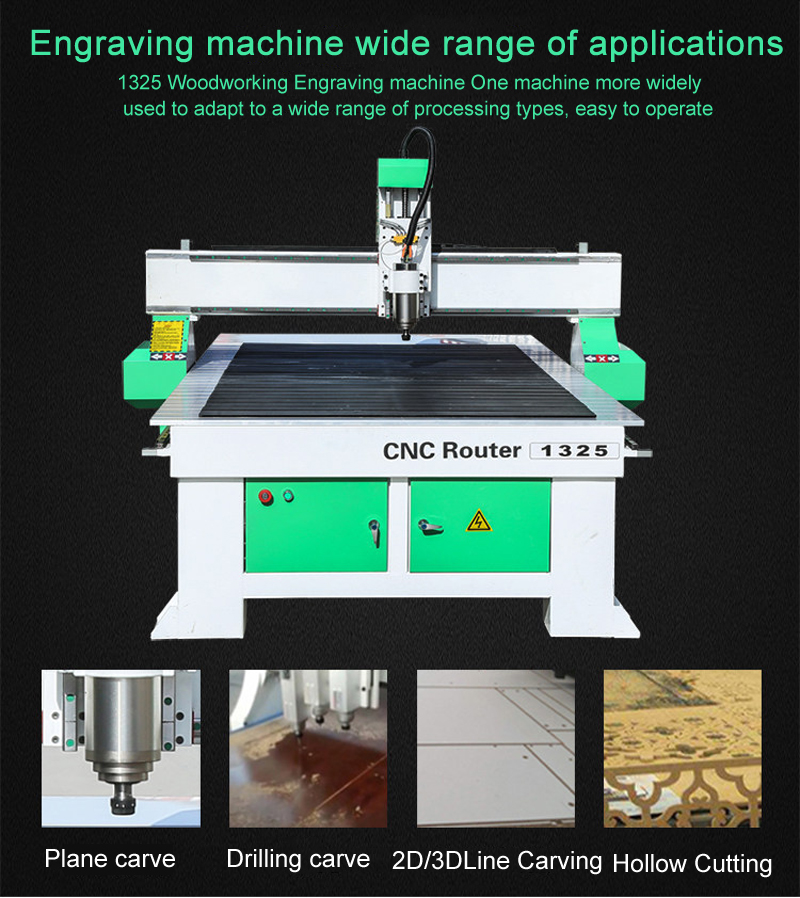 <font><b>CNC</b></font> <font><b>router</b></font> 1300x2500mm 800w 2200w 3200w water-cooled spindle engraving machine Mach3 <font><b>cnc</b></font> <font><b>1325</b></font> lathe cutter milling machine image