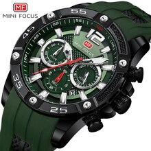 MINIFOKUS Uhr Marke Luxus Analog Quarz Sport Männer Uhren Herren Silikon Wasserdicht Datum Mode Armbanduhr Relogio Masculino