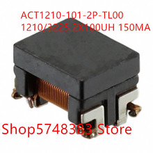 10PCS/LOT Common mode inductance ACT1210-101-2P-TL00 ACT1210 1210/3225 2x100uh 150mA