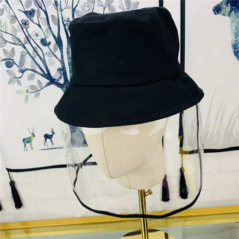 Купить с кэшбэком Multi-function Child Windproof Breathable Hat Outdoor Bucket Hats Face Protective Duct Protection Simple Hats Cap for Children