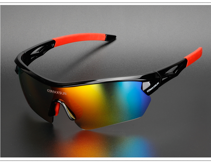 Ha12257ea9bed41c485133c4630f0f0eeP COMAXSUN Professional Polarized Cycling Glasses Bike Goggles Outdoor Sports Bicycle Sunglasses UV 400 With 5 Lens TR90 2 Style