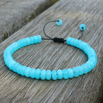 4*6mm Amazonite Bead Bracelet 9