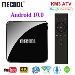 Image 3 - Google Chứng Nhận MECOOL TV Box Android 9.0 KM9 PRO Androidtv 9.0 4 GB RAM 32 GB Amlogic S905X2 4 K bằng giọng nói 2.4G 5G Wifi BT4.0 KM9 ATV