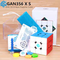 GAN356 X S magnetic magic speed cube GAN356X professional gan 356 X magnets puzzle cubo magico gan 356 XS Gans