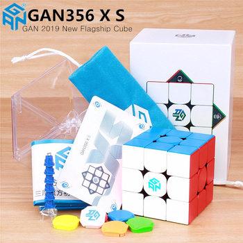 GAN356 X S magnetyczne magia prędkość gan cube GAN356X profesjonalne gan 356 X magnesy puzzle gan 356 XS Gans kostki tanie i dobre opinie CN (pochodzenie) Z tworzywa sztucznego MAGNETIC avoid swallowing 5-7 lat 8-11 lat Dorośli 12-15 lat 6 lat 8 lat 3x3x3