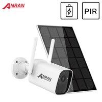 ANRAN 3MP Solar Kamera WIFI Sicherheit Kamera Outdoor Wasserdicht IP Kamera PIR 1296P Video Überwachung Kamera Solar Batterie