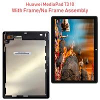 "9 6 ""Für Huawei MediaPad T3 10 AGS L09 AGS W09 AGS L03 T3 9 6 LTE LCD Display mit Touch Screen Encoding konverter Montage + Zu-in Tablett-LCDs und -Paneele aus Computer und Büro bei"