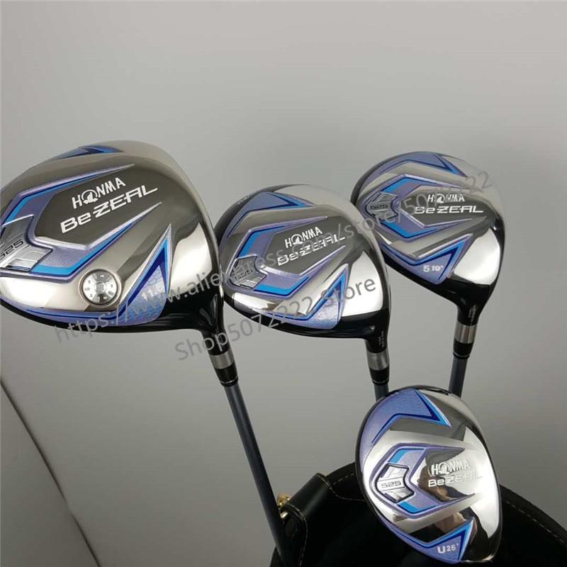 Women's Golf Clubs HONMA BEZEAL 525 Golf Driver Fairway Wood Hybrids Graphite Golf Club L Bending