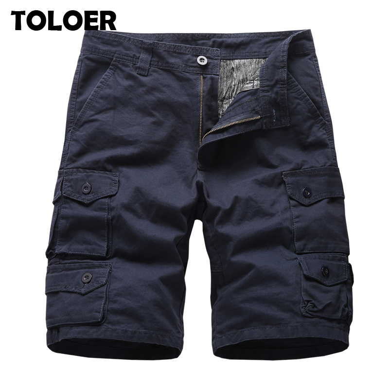 Tactical Camo Cargo Shorts Men 2020 New Summer Men''s Casual Multi-pocket Shorts Male Loose Work Shorts Man Military Short Pants