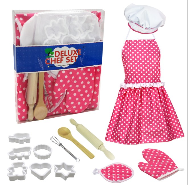 Kids Cooking And Baking Set ,suitable For Girls 3 And Older Kids Toys For ChildrenAccessories Kids Pretend Play Toy Set