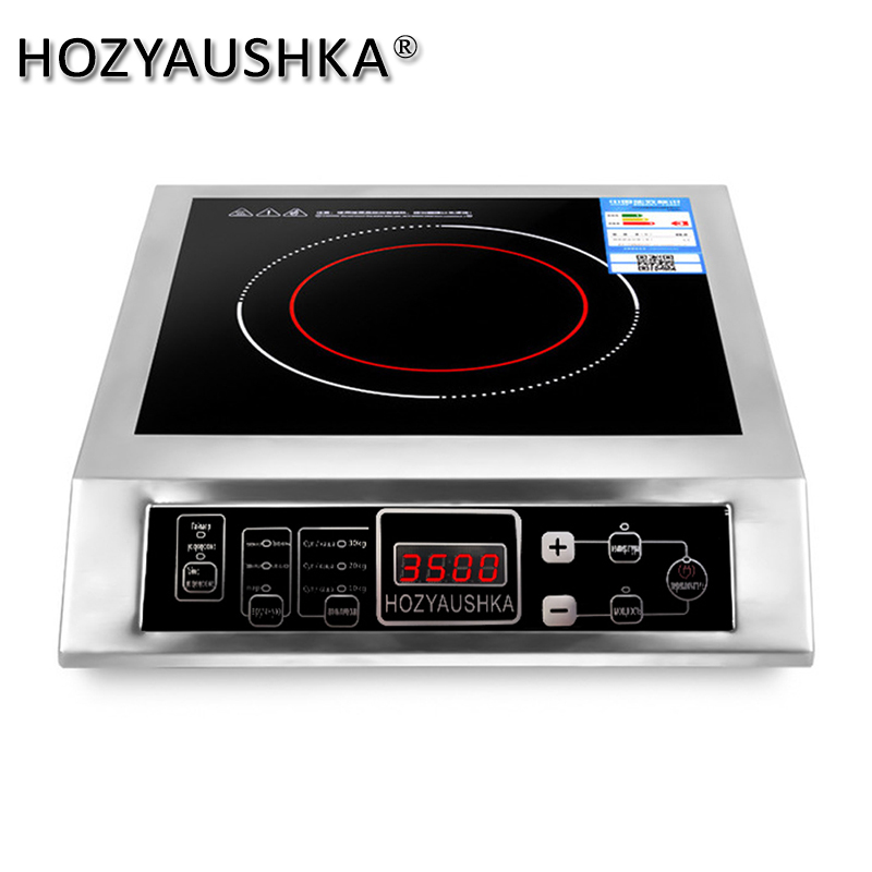 High power induction cooker 3500W commercial stainless steel induction cooker household stir fry battery