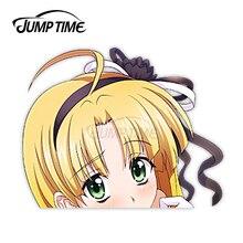 Jump Zeit Anime Abitur DxD Asia Argento 34 8,1 Stoßstange Fenster Helm Vinyl Aufkleber Peeker Auto Aufkleber