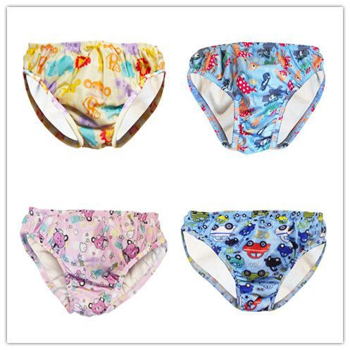 Bread Pants CHILDREN'S Swimming Trunks Baby Swimming Trunks Infant Swimming Diaper Pants Baby Swimming Waterproof Swimming Trunk