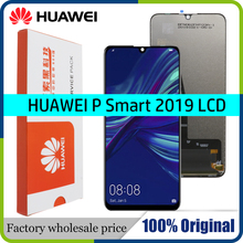 """6.21"""" 100% Original 10 Touch Display with Frame for Huawei P Smart 2019 LCD Touch Screen Digitizer Assembly POT LX1 L21 LX3"""