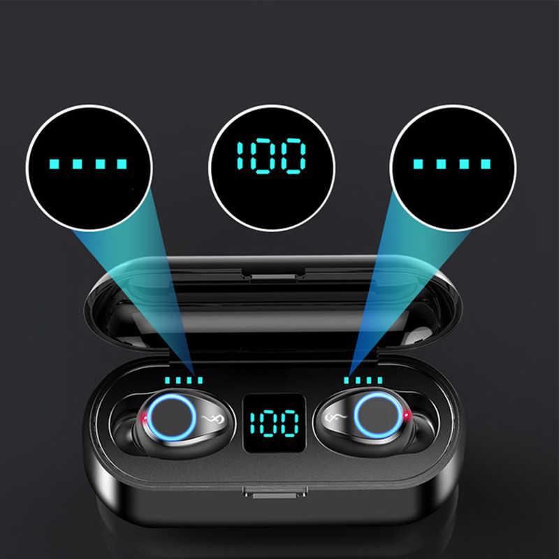 Беспроводные наушники, Bluetooth наушники, 5,0 стерео звук, наушники для телефонов, настоящие наушники с шумоподавлением, гарнитура mi для xiaomi iphone 7 8 airbuds