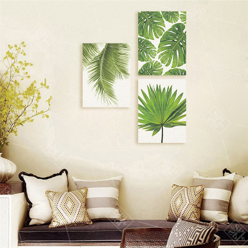 Tropical-Banana-Leaf-Canvas-Painting-Green-Plants-Nordic-Style-Kids-Room-Decor-Posters-and-Prints-Wall (2)