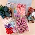 Подвеска-Свеча «сделай сам» для ароматерапии, натуральный сушеный цветок для эпоксидной смолы, 1 коробка, украшение для рукоделия