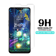 25 Pcs Tempered Glass For LG V50 ThinQ 5G Screen Protector 2.5D 9H Tempered Glass For LG V50 ThinQ 5G Protective Glass Film calans 0 25mm 9h protective tempered glass screen protector for lg g3 transparent