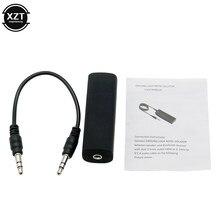 Para o carro 3.5mm cabo de áudio anti-interferência à terra laço isolamento de ruído cancelando filtro redutor assassino áudio sistema estéreo em casa