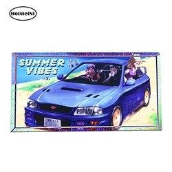 HotMeiNi 13cm x 6.9cm LIMITED EDITION Grafixpressions Summer Vibes Slap Sticker Cartoon Car Bumper Decal Funny Car Stickers