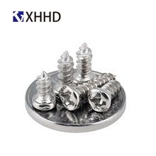 M1 M1.2 M1.4 M1.5 M1.7 Steel Nickel Plated Phillips Cross Recessed Pan Head Self Tapping Screw Metric Thread Small Round Bolt стоимость