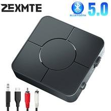 Adaptateur USB Bluetooth 5.0 sans fil avec micro, récepteur Audio mains libres, Dongle émetteur pour TV, PC, haut-parleur de voiture, Jack AUX RCA de 3.5mm