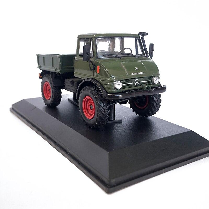 Simulação alta escala 1:43 liga unimog 406a 1970 modelo de caminhão modelo de veículo fundido carro de brinquedo para coleção crianças presente