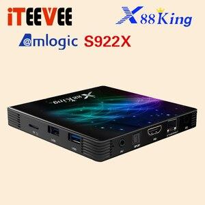 Image 4 - X88 King Android 9.0 Tv Box S922X Hexa Core Mali G52 MP6 LPDDR4 4Gb 128Gb Set Top Box dual Wifi Bluetooth 5.0 1000M Lan Speler