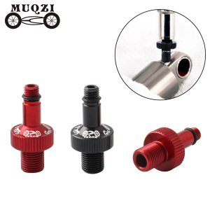 MUQZI MTB Bike Suspension Aerated Conversion Nozzle Rear Shock Converter Valve Gas Nozzle Adapter Repair Tools Mountain Bicycle
