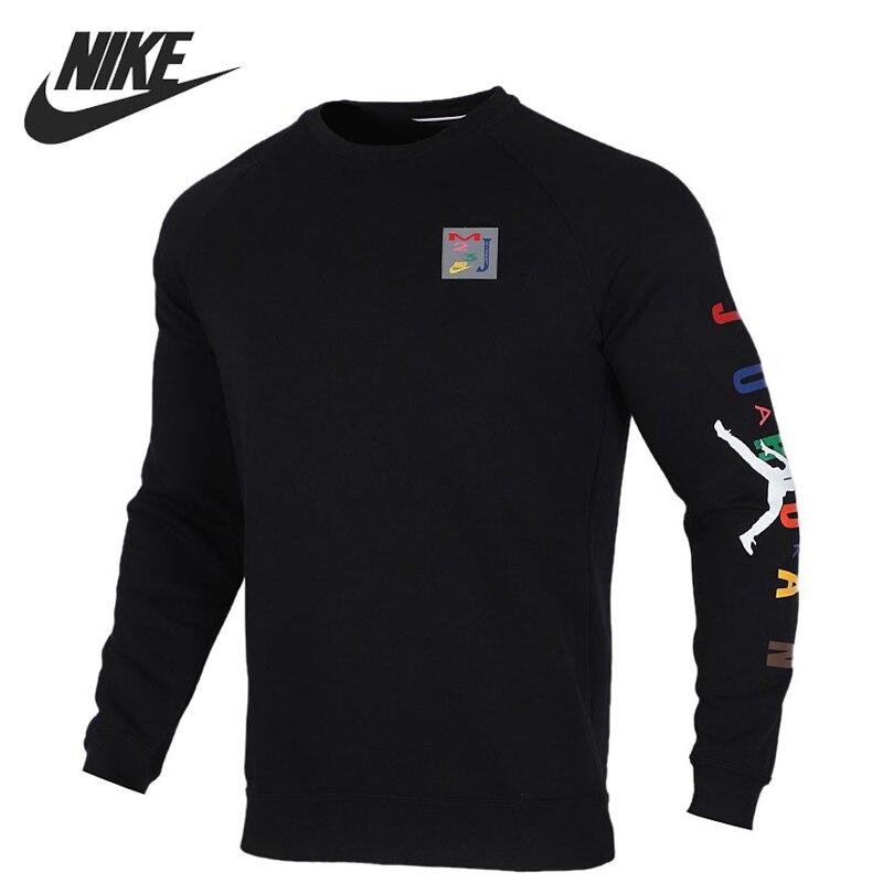 Original New Arrival  NIKE AS  SPRT DNA BRUSHED HBR CR Men's  T-shirts  Long sleeve Sportswear