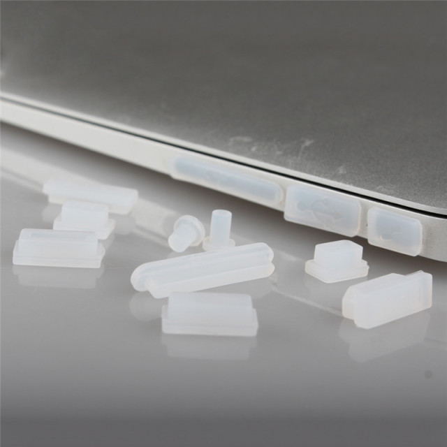 Silicone Anti-dust Plugs Protection Set for MacBook Air retina 11 12 Pro 13 15 16 inch Touch barID 2020 A2141 A1932 A2159 A2179