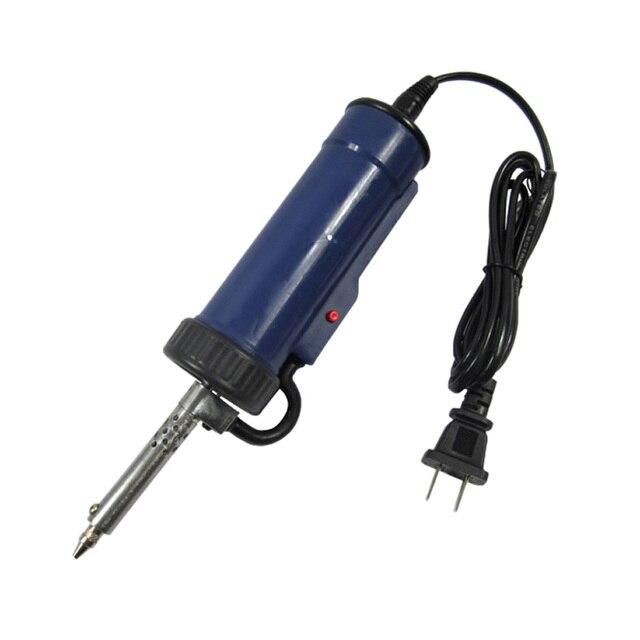 30W 220V 50Hz Electric Vacuum Solder Sucker Electric Desoldering Pump Iron Tool Us Plug